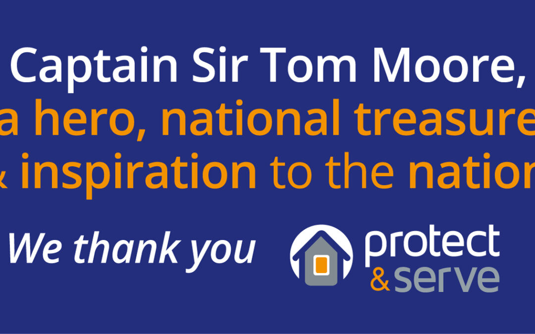 A Tribute to Captain Sir Tom Moore